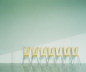chairs, green, and Kanazawa image