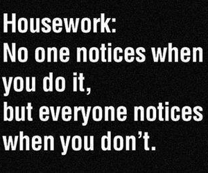 true and housework image