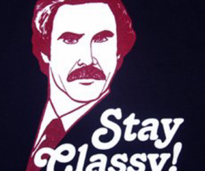anchorman, class, and ron burgundy image