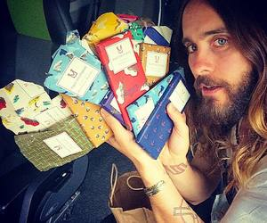 jared leto, chocolate, and 30 seconds to mars image