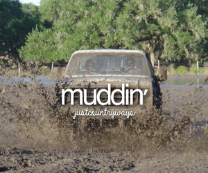 mud, country, and fun image