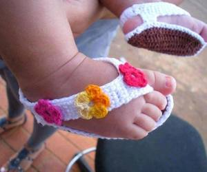baby, shoes, and feet image