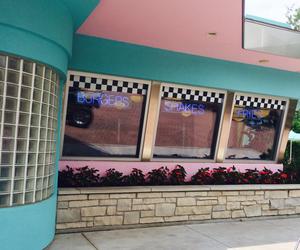 amusement park, diner, and restaurant image