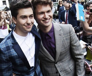 ansel elgort and tfios image