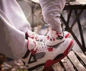 baby, shoes, and jordan image
