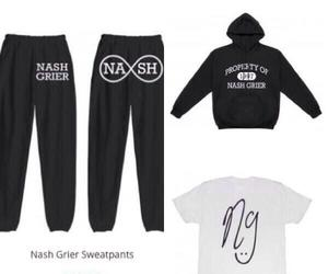 clothes, sweatpants, and magcon image