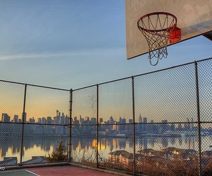 Basketball, amazing, and basket image
