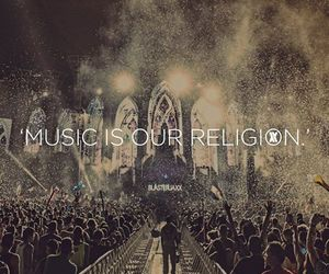 music, religion, and Tomorrowland image