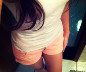 clothes, neon shorts, and cute image