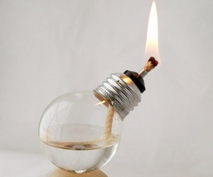 light, diy, and fire image