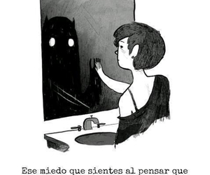 fear, frases, and monster image