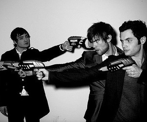Chace Crawford, ed westwick, and Penn Badgley image