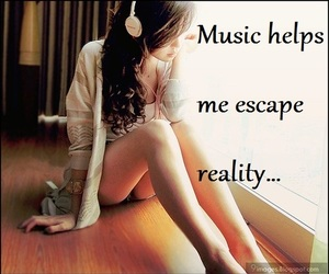 escape, reality, and life image
