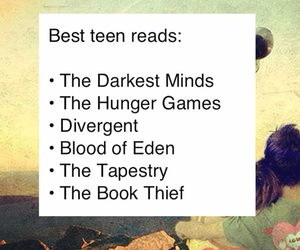 books, read, and teen image