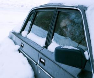 car, hopeless, and snow image