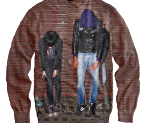 Crystal Castles, want, and pullover image