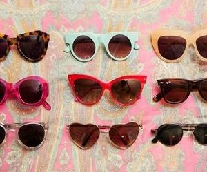 sunglasses, vintage, and summer image