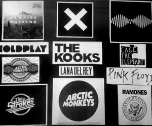 Pink Floyd, the kooks, and arctic monkeys image