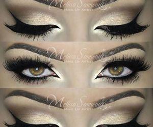 eyes and make-up image
