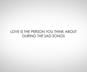 love, song, and quote image