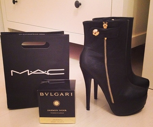 mac, shoes, and heels image