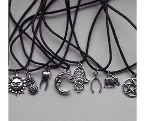 necklace, choker, and fashion image