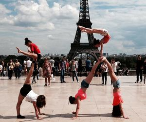 acrobatic, black, and france image