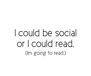book, read, and social image