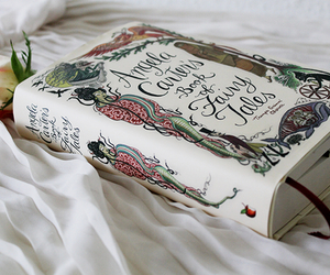 book, rose, and fairy tales image
