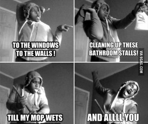 funny, song, and janitor image