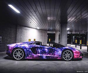 galaxy, lambo, and Lamborghini image