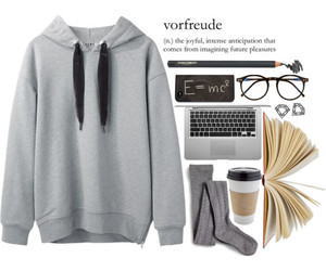 book, fashion, and outfit image