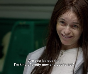 funny, orange is the new black, and girl image