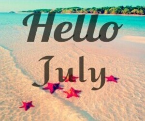 july, months, and summer image