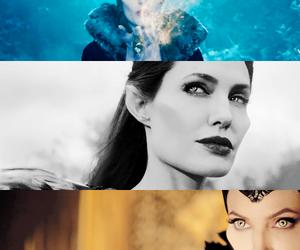 maleficent, movie, and Angelina Jolie image