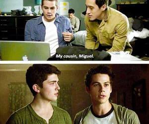 teen wolf, stiles, and miguel image
