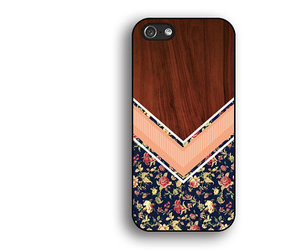 pink iphone case, flower iphone cover, and wood floral iphone 4 case image