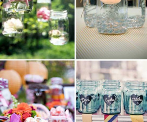 crafts, mason jars, and cute image
