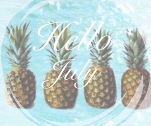 day, pineapple, and summer image