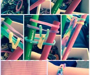 bracelets, colors, and diy image