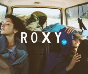 roxy, girl, and summer image