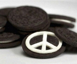 oreo, peace, and food image