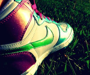 chucks, nike, and shoes image