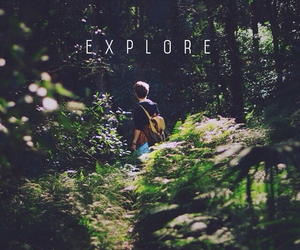 explore, boy, and nature image