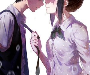 anime, hyouka, and couple image