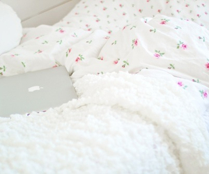 bedroom, cozy, and girly image