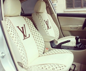 car, luxury, and Louis Vuitton image