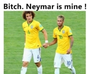 neymar, brazil, and funny image