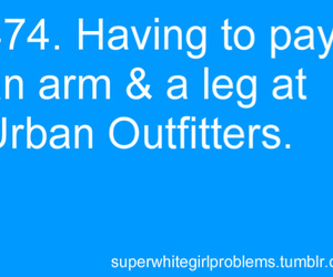 lol, urban outfitters, and super white girl problems image