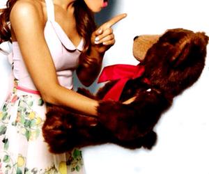 ariana grande, ariana, and bear image